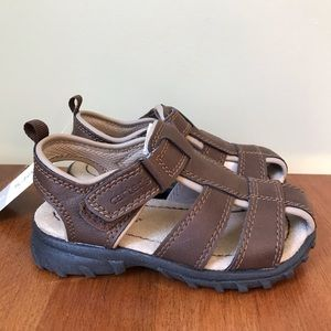 NWT Carter's Brown leather sandals